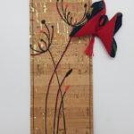 Dandelion rouge papillon noir 2