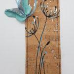 Dandelion bleu papillon bleu 1